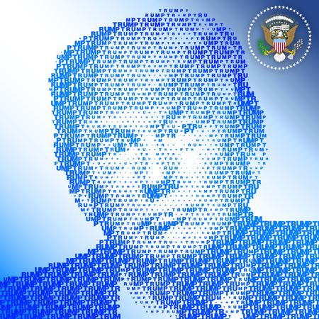 STATI UNITI - NOVEMBRE 2016 - Donald Trump, il presidente 45a degli stati uniti d'america Archivio Fotografico - 65599661