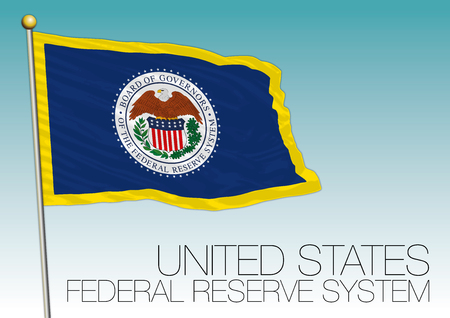 Federal Reserve System flag, United States Çizim
