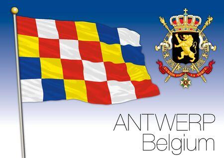 Regional flag Antwerp, Belgium