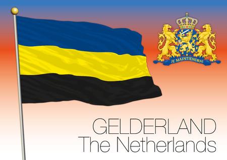 regional: Regional flag Gelderland, Netherlands, European union