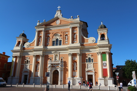 Cathedral of Carpi, Modena, Italy