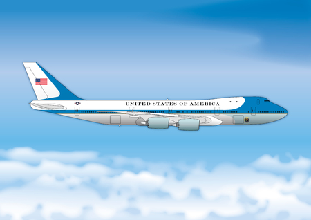 Air Force One, Boeing 747, US Presidential Representative Airplane Editorial
