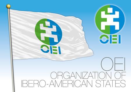 OEI Organization of Ibero-American States flag