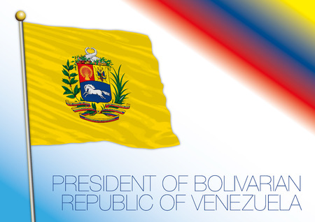 Venezuela, flag of the President of the Republic