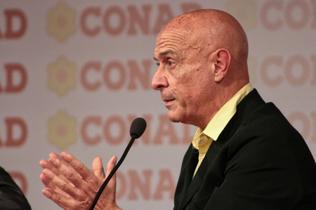 MODENA, Italy, SEPTEMBER, 2017: Marco Minniti, Public Political Conference Democratic Party Convention