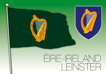 Leinster regional flag, Eire, Ireland