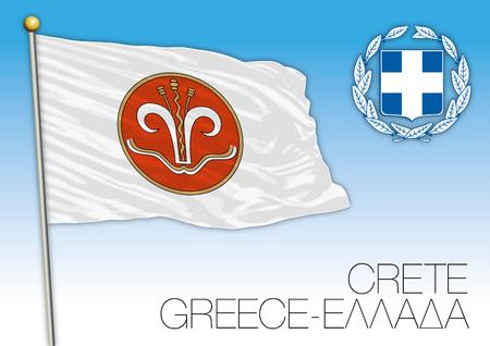 Crete regional flag, Greece