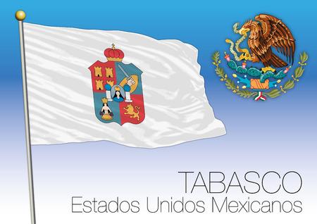 Tabasco regional flag, United Mexican States, Mexico