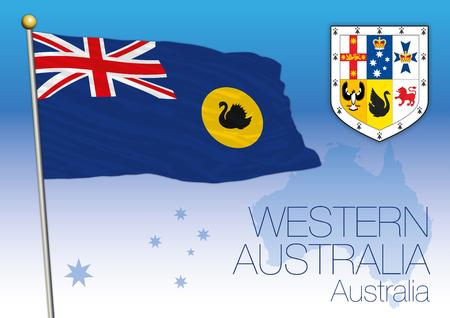 Western Australia, flag of the state and territory, Australia