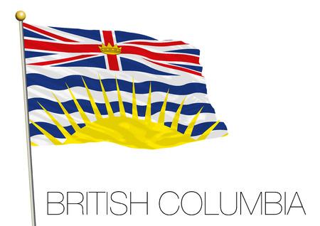 British Columbia regional flag Canada.