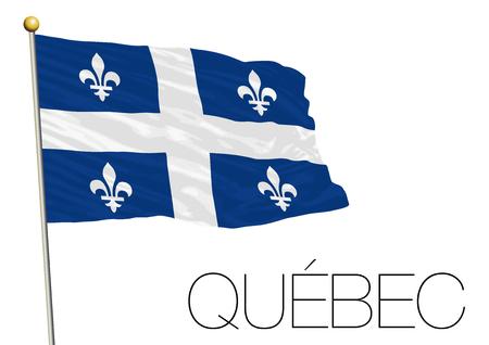 Quebec regional flag Canada.