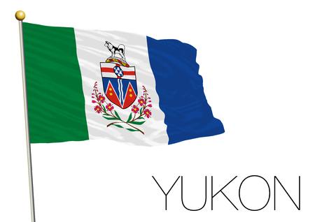 Yukon regional flag, Canada