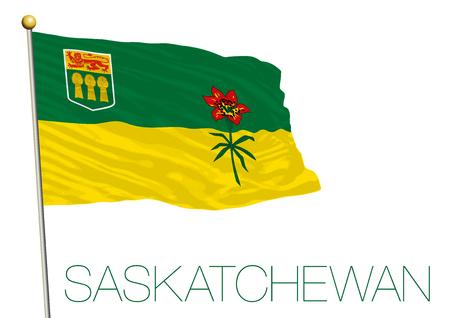 Saskatchewan regional flag Canada.