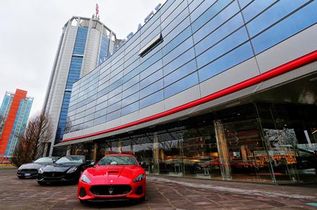 MODENA, ITALY - MARCH 2017 - FCA Maserati factory Open Day, Modena Archivio Fotografico - 102659030