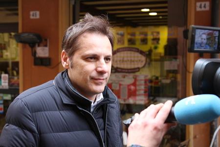 MODENA, ITALY, FEBRUARY 20, 2108 - Armando Siri, Lega Nord's political economy manager Archivio Fotografico - 102659054