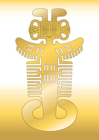 Pre-Columbian jewel Tolima culture, Colombia