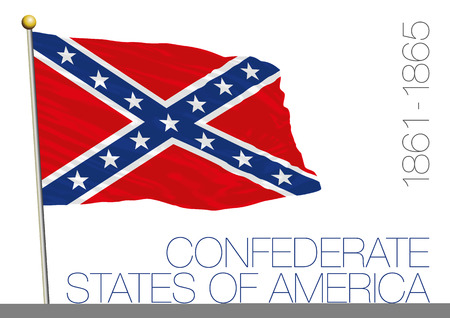 Confederated States of America historical flag, 1861