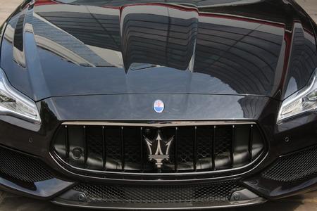 MODENA, ITALY - MARCH 2018 - FCA Maserati factory Open Day, Modena Archivio Fotografico - 102659154