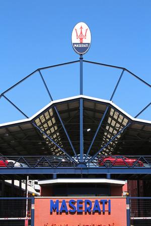 MODENA, ITALY - MARCH 2018 - FCA Maserati factory Open Day, Modena Archivio Fotografico - 102659156