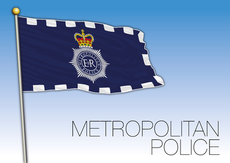 Metropolitan Police flag, United Kingdom