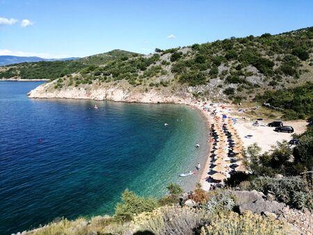 Krk island, Croatia, touristic place of Dalmatia, Europe Archivio Fotografico - 128527235