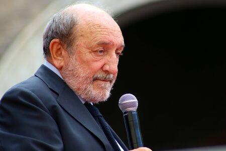 Modena - Italy, September 2019 - Festival Filosofia 2019, Umberto Galimberti