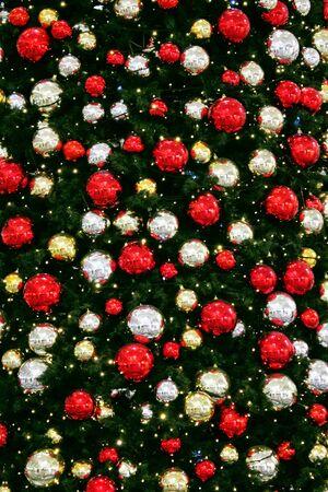 Christmas tree balls traditional decorations Stock fotó - 133807706