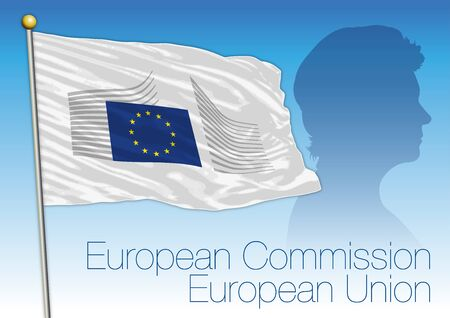 president of the European Commission, Germany, vector illustration 일러스트