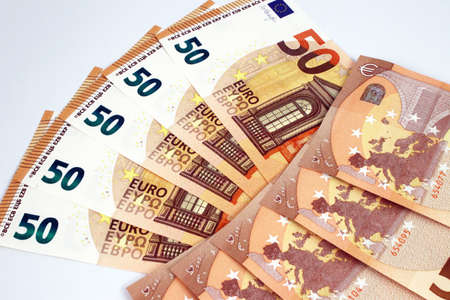 50 Euro banknotes composition
