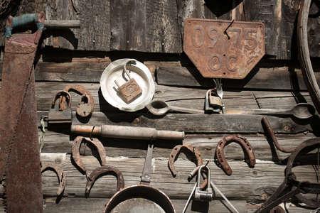 Old rusty tools photo