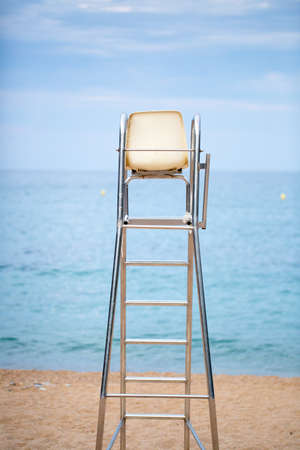 caribbeans: The lifeguard chair on the beach photo for you
