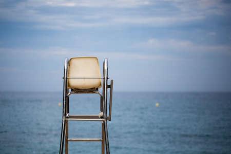 caribbeans: The lifeguard chair on the beach