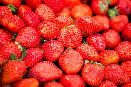 Delicious, juicy, ripe and bright strawberry photo for you photo