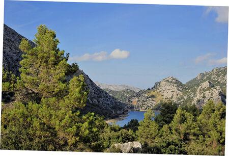 blau: Mallorca, overlooking the Panta de Gorg Blau