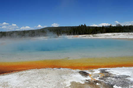 Yellowstone hotspring