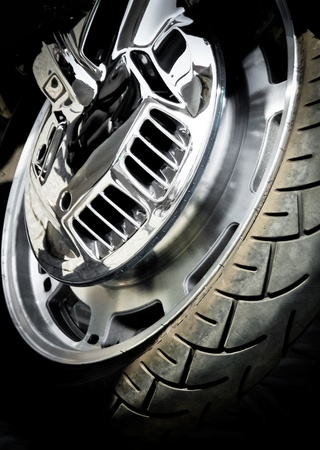 aluminum wheels: Detalle de la motocicleta