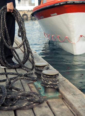 mooring: Mooring ropes