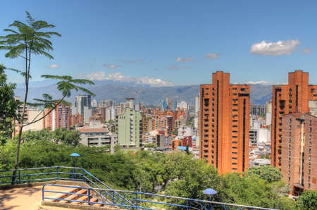 santander: Bucaramanga Colombia Skyline as seen from El Prado district