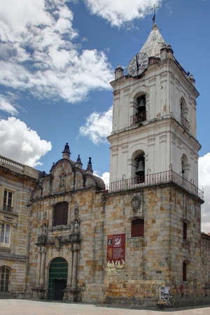 San Francisco iglesia Bogot�, Colombia, el 7 y Jim�nez photo