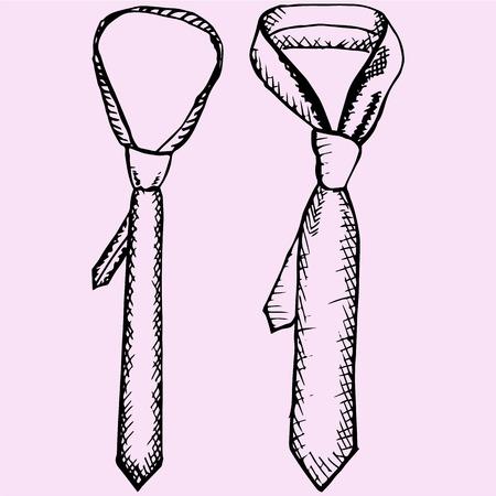lazo de los hombres, conjunto, el estilo de dibujo, ilustración boceto