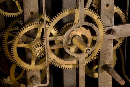 Engranajes de un reloj Foto de archivo - 48754211