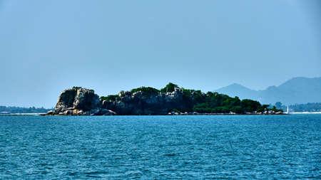 Small island near Koh Samui in Thailand Stock Photo