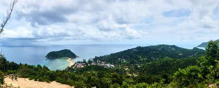 Small island near Koh Phangan in Thailand Stock Photo - 80126376