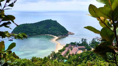 Small island near Koh Phangan in Thailand Stock Photo - 80126379