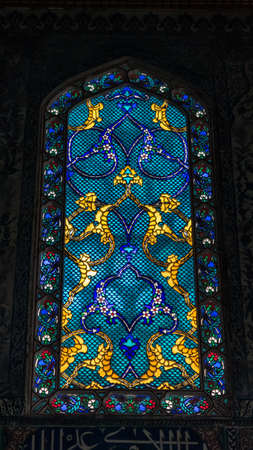 Interior view of a Topkapi Palace. Harem, Istanbul, Turkey