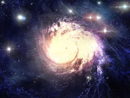 Abstract fantastische ruimte storm