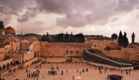 The Western Wall,Temple Mount, Jerusalem, Israel Stock Photo - 12978834