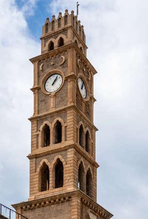 old clock tower akko , Ottoman landmark building - Han El-Umdan photo