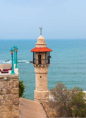 Jaffa, een deel van de Israëlische stad Tel Aviv-Yafo