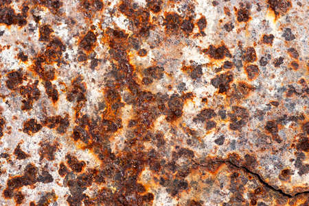 Abstract old rusty metal  with crack background Stock Photo - 17779799